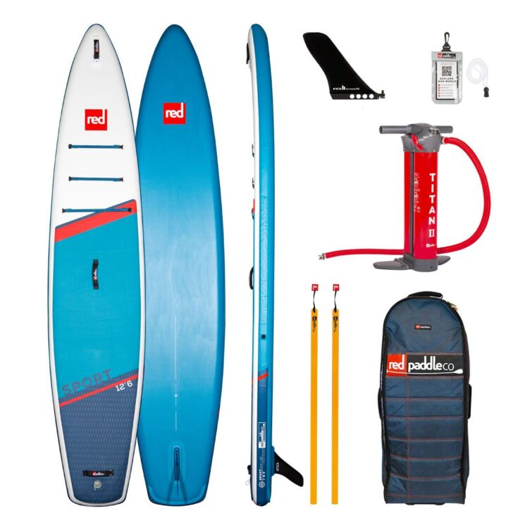 Red Paddle Co 12'6″ Sport MSL SUP