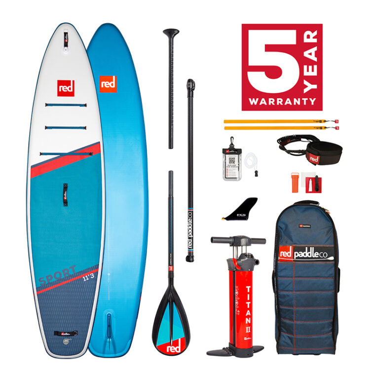 Red Paddle Co 11'3″ Sport MSL – All In One