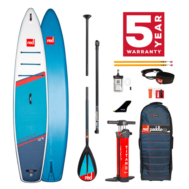 Red Paddle Co 12'6″ Sport MSL – All In One