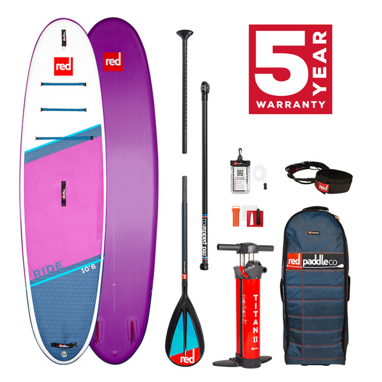 Red Paddle Co 10'6″ Ride Special Edition MSL – All In One