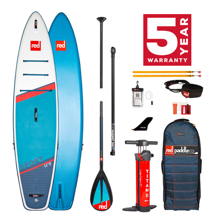 Red Paddle Co 11′ Sport MSL – All In One